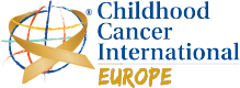 Childhood Cancer International Europe Logo